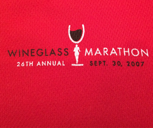 2007 Wineglass Marathon